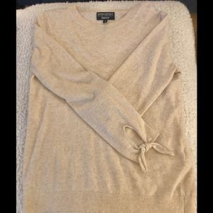 Banana Republic wool cashmere blend crew sweater